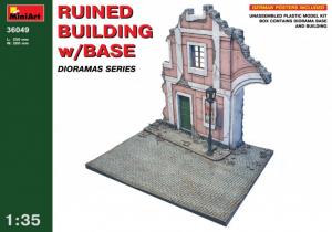 MiniArt 36049 Ruiny budynku z podstawą