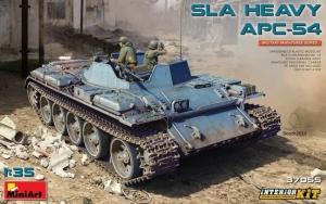 MiniArt 37055 SLA Heavy APC-54 model z wnętrzem