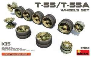 MiniArt 37058 T-55 / T-55A Wheels Set