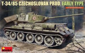 MiniArt 37085 Czołg T-34/85 Czechosłowacka produkcja