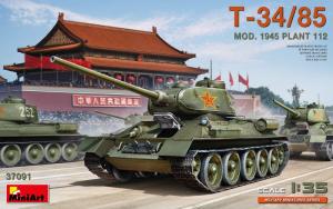 MiniArt 37091 Czołg T-34/85 Mod. 1945 Plant 112