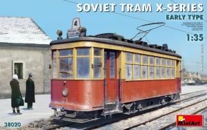 MiniArt 38020 Tramwaj radziecki seria X wczesny typ