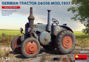 MiniArt 38029 Niemiecki ciągnik rolniczy D8506 Mod. 1937