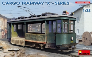 MiniArt 38030 Cargo Tramway X series skala 1-35
