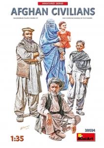 MiniArt 38034 Figurki afgańscy cywile skala 1-35