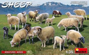 MiniArt 38042 Owce 15 szt model 1-35