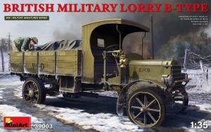 MiniArt 39003 Wojskowa ciężarówka Lorry B-Type