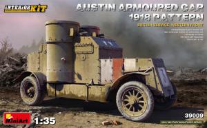 MiniArt 39009 Samochód pancerny Austin 1918 Pattern z wnętrzem