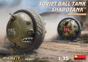 MiniArt 40001 Soviet Ball Tank Sharotank - Interior Kit