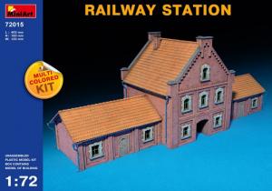 MiniArt 72015 Stacja kolejowa model 1-72