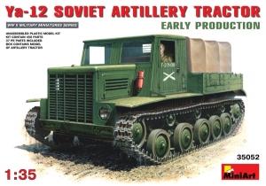 Model gąsienicowego ciągnika artyleryjskiego YA-12 MiniArt 35052