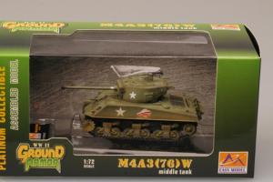 Model gotowy czołg M4A3(76)W 1-72 Easy Model 36260