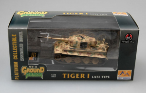 Model gotowy czołg Tiger I późny 1-72 Easy Model 36217