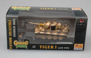 Model gotowy czołg Tiger I późny 1-72 Easy Model 36220