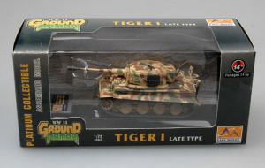 Model gotowy czołg Tiger I późny 1-72 Easy Model 36221