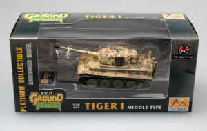 Model gotowy czołg Tiger I 1-72 Easy Model 36213