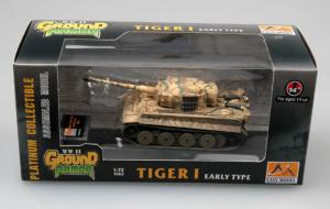 Model gotowy czołg Tiger I wczesny 1-72 Easy Model 36210