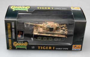 Model gotowy czołg Tiger I wczesny 1-72 Easy Model 36211