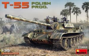 Model polskiego czołgu T-55 MiniArt 37068