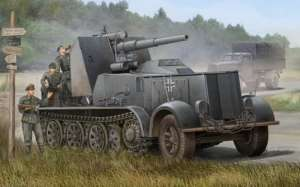 Model samobieżnego działa 88mm Flak 18 Trumpeter 01585