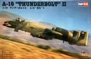 Model samolotu A-10 Thunderbolt II Hobby Boss 80323