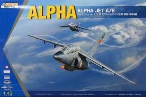 Model samolotu Alpaha Jet A/E 1:48 Kinetic 48043