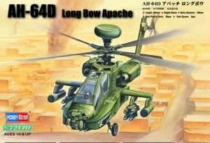 Model śmigłowca bojowego AH-64D Longbow Apache Hobby Boss 87219