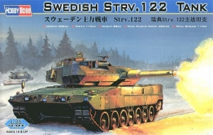 Model szwedzkiego czołgu Stridsvagn Strv 122 Hobby Boss 82404