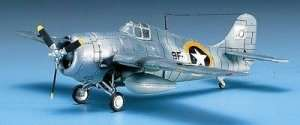 Model Academy 12451 Grumman F4F-4 Wildcat