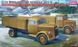 Model Academy 13404 niemieckie ciężarówki