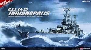 Model Academy 14107 krążownik USS Indianapolis