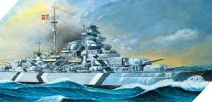 Model Academy 14109 Battleship Bismarck