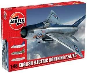 Model Airfix EE Lightning F2A, F6 09178