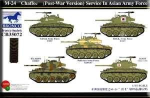Model Bronco CB35072 czołg M-24 Chaffee służba w Azji skala 1-35