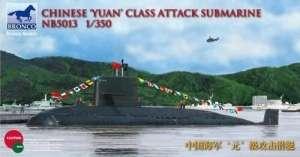 Model Bronco NB5013 Okręt podwodny klasy Yuan