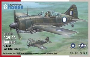 Model Buffalo model 339-23 Special Hobby SH72128