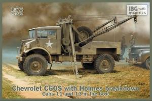 Model Chevrolet C60S with Holmes breakdown IBG 72032
