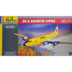 Model Douglas DC-6 Securite Civile Heller 80330
