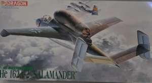 Model Dragon 5508 Heinkel He 162A-2 Salamnder uszkodzone opak.
