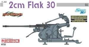 Model Dragon 6722 działko przeciwlotnicze 2cm Flak 30