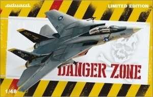 Model Eduard 1192 myśliwiec US F14A Tomcat Danger Zone