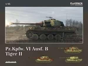 Model Eduard 3715 czołg Tiger II Pz.Kpfw.VI ausf. B