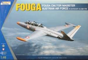 Model Fouga Magister CM 170 Austria Kinetic 48059