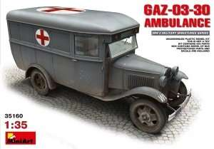Model GAZ-03-30 Ambulance skala 1:35 MiniArt 35160