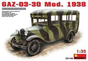 Model GAZ-03-30 Mod.1938 skala 1:35 MiniArt 35149