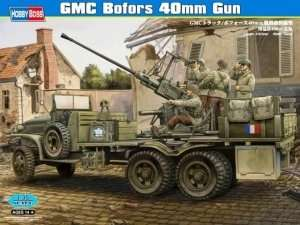 Model GMC with anti-aircraft Bofors 40mm Gun Hobby Boss 82459