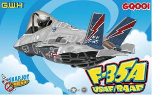 Model GQ001 myśliwiec F-35A USAF/RAAF edycja kids