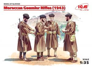 Model ICM 35565 żołnierze marokańscy Goumier
