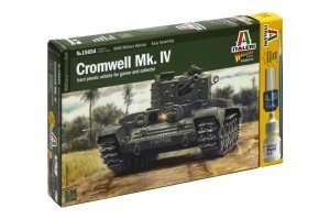 Model Italeri 15654 WWII Cromwell Mk. IV do sklejania