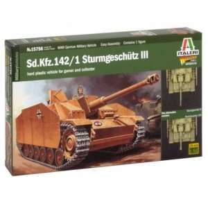 Model Italeri 15756 WWII Stug III do sklejania